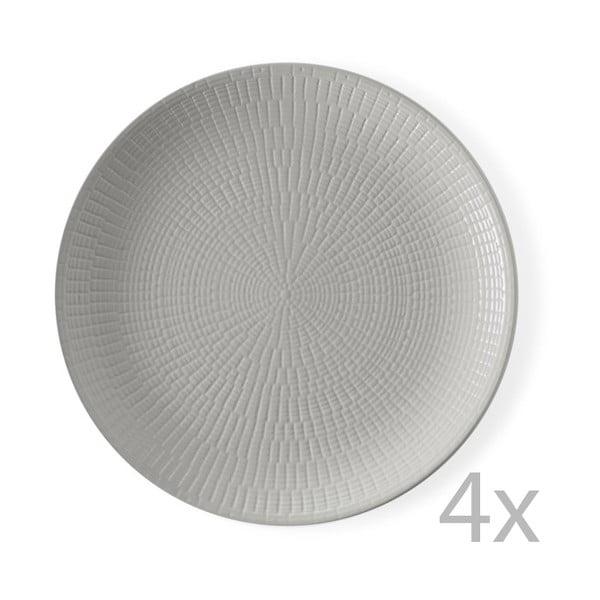 Sada 4 tanierov Granaglie Gris, 27 cm