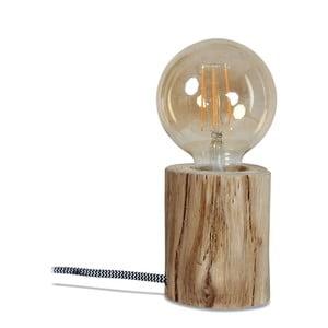 Drevená stolová lampa Opjet Paris Peme