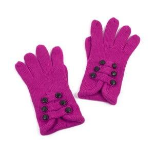 Ružové dámske rukavice Art of Polo Pamela