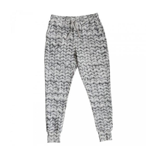 Pánske sivé nohavice Snurk Twirre, S