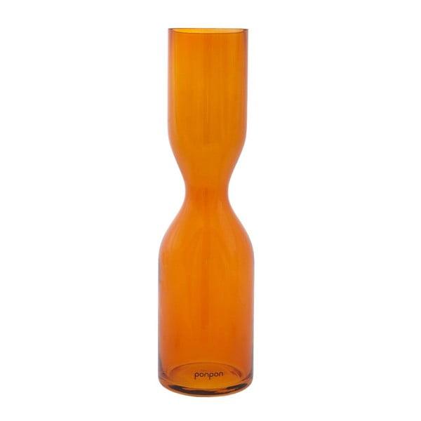 Váza Pinch 36 cm, oranžová