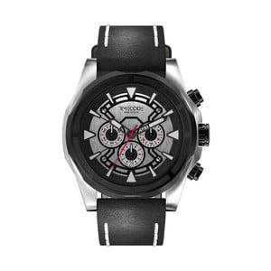 Pánske hodinky Suez 1869, Metallic/Black
