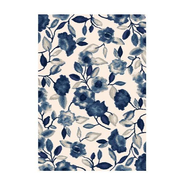 Koberec Milan, 133x195 cm, modrý