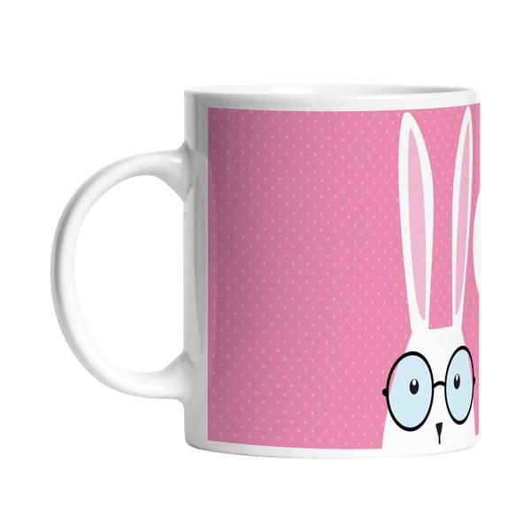 Keramický hrnček Hi Bunny, 330 ml