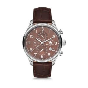 Pánske hodinky s koženým remienkom Santa Barbara Polo & Racquet Club Hiker