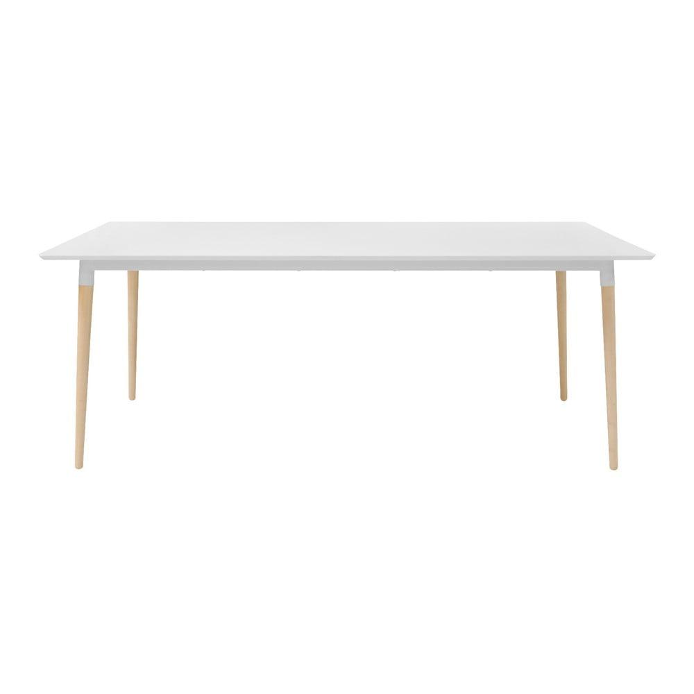 Jedálenský stôl s podnožím z dubového dreva Actona Olivia, 200 x 100 cm
