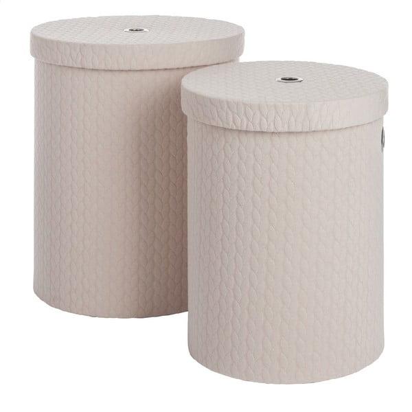 Set 2 boxov Cream Linen