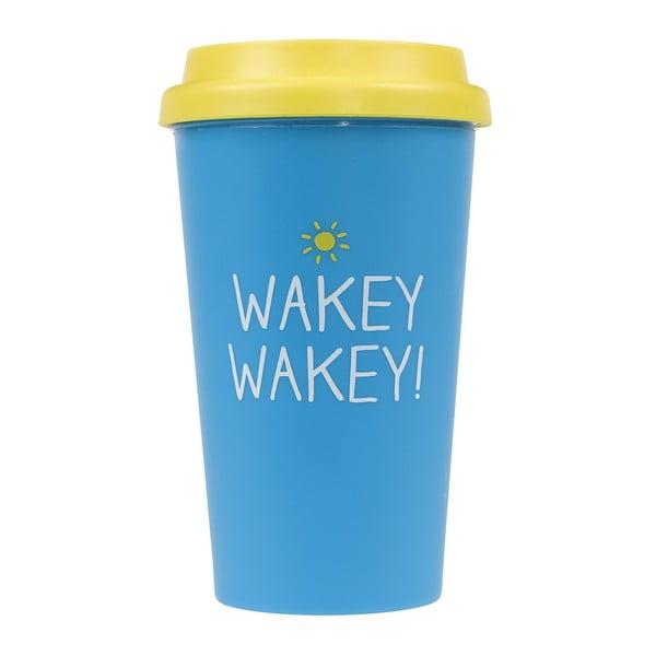 Cestovný hrnček Happy Jackson Wakey Wakey