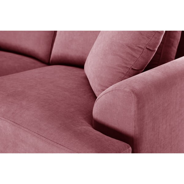 Dvojdielna sedacia súprava Jalouse Maison Irina, ružová