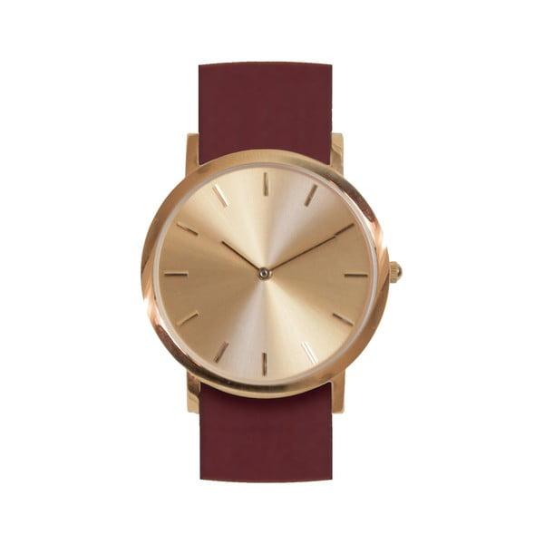 Červené hodinky Analog Watch Co. Classic