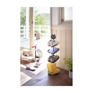 Detský čierny stojan na topánky Yamazaki Kid´s Shoe Rack