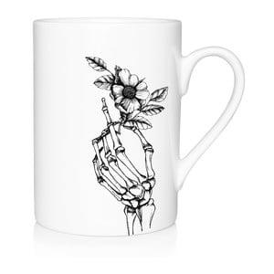 Porcelánový hrnček We Love Home Skeleton, 300 ml