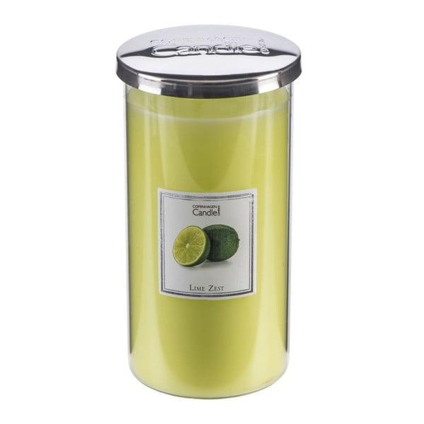 Aromatická sviečka s vôňou limetiek Copenhagen Candles Talll, doba horenia 70hodín