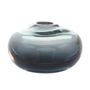 Modrá sklenená váza A Simple Mess Blad