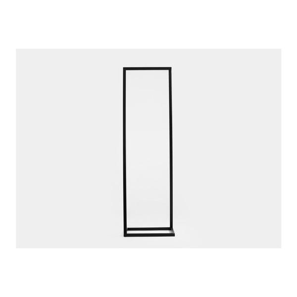 Čierny vešiak Custom Form Hall, šírka 50cm
