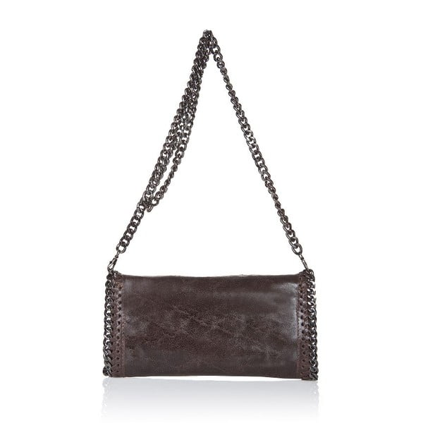 Kožená kabelka Markese 132 Brown