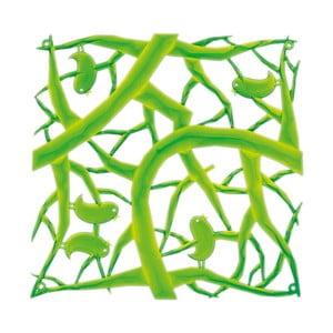 Zelený dekoratívny plastový panel Koziol