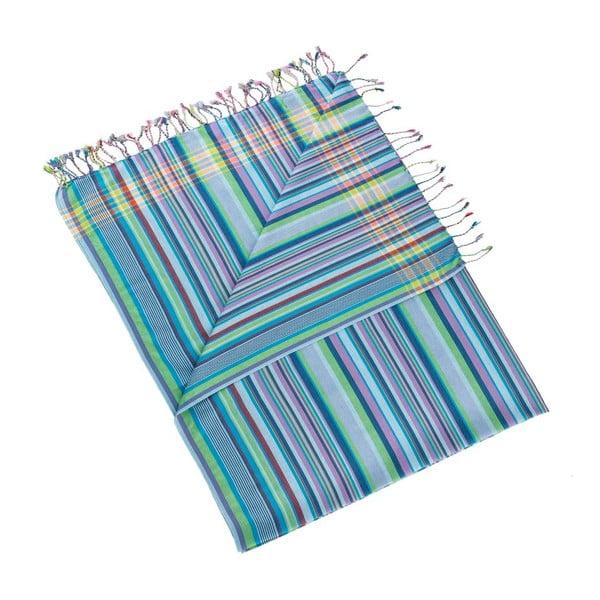 Osuška/pareo Inci Blue, 100x178 cm