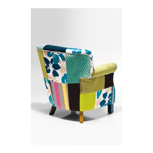 Kreslo Kare Design Patchwork Stripes
