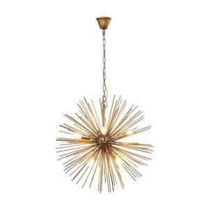 Stropné svietidlo v mosazné farbe Kare Design Beam