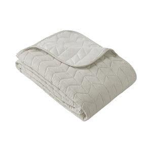 Okrovobéžový pléd cez posteľ Slowdeco So Simply, 170×210 cm