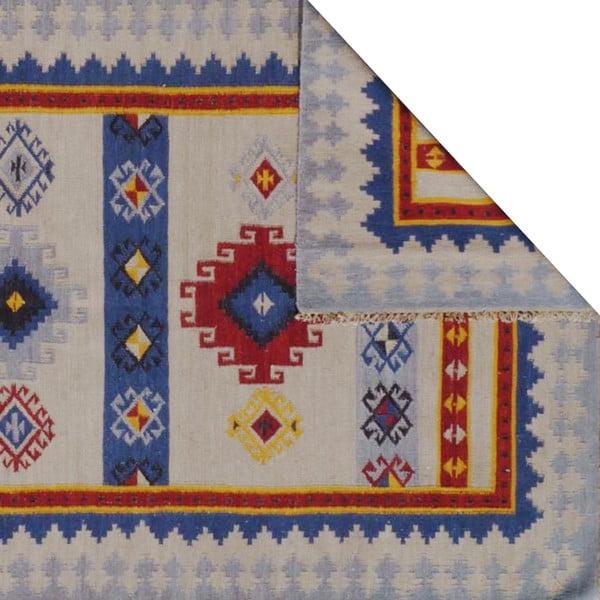 Ručne tkaný koberec Kilim Lalam, 155x240cm