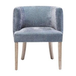 Modrá stolička Kare Design Theater