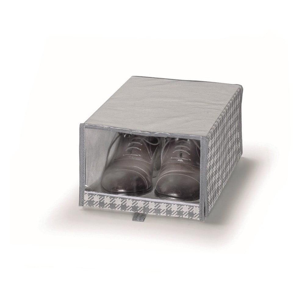 Sivý úložný box na topánok Cosatto De Poule