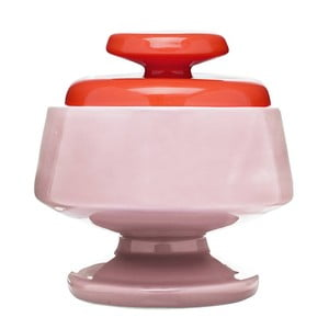 Cukornička Sagaform Pop, ružová