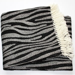 Deka Zebra Black, 140x180 cm