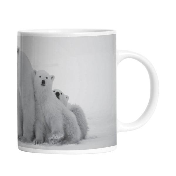 Keramický hrnček Polar Family, 330 ml