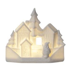 Svietiaca LED dekorácia Best Season Winter Santa Village