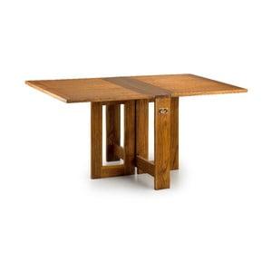 Skladací jedálenský stôl z dreva bieleho cédra Moycor Star