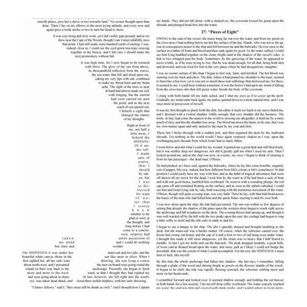 Knižný plagát Ostrov pokladov, 70x100 cm