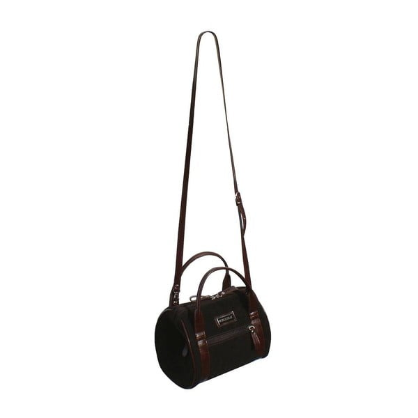 Kožená kabelka Boscollo Chocolate 2159