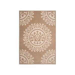 Béžový koberec vhodný do exteriéru Safavieh Delancy, 160×231 cm