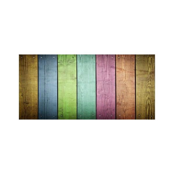 Koberec z vinylu Cocina Tablas Colores, 50x80 cm