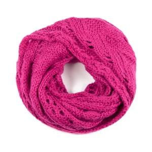 Kruhový šál Poppy Pink