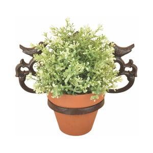 Nástenný liatinový držiak na kvetináč Ego Dekor Botanika