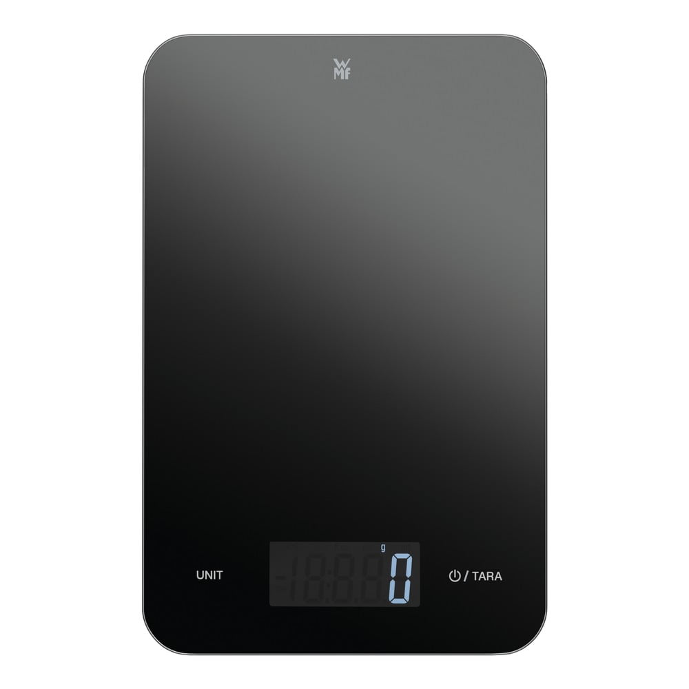 Čierna kuchynská digitálna váha WMF Cromargan®