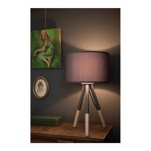 Tmavosivá stolová lampa Zuiver Highland