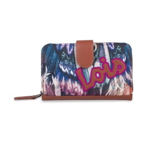Peňaženka Lois Peacock, 14x9 cm