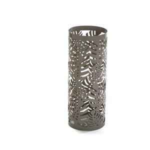 Sivý kovový stojan na dáždniky Versa Rainy, ⌀15,5 cm