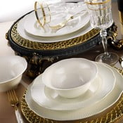 24-dielna sada tanierov z porcelánu Kutahya Golden Era
