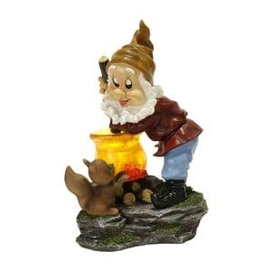 LED záhradná dekorácia Best Season Cook Dwarf