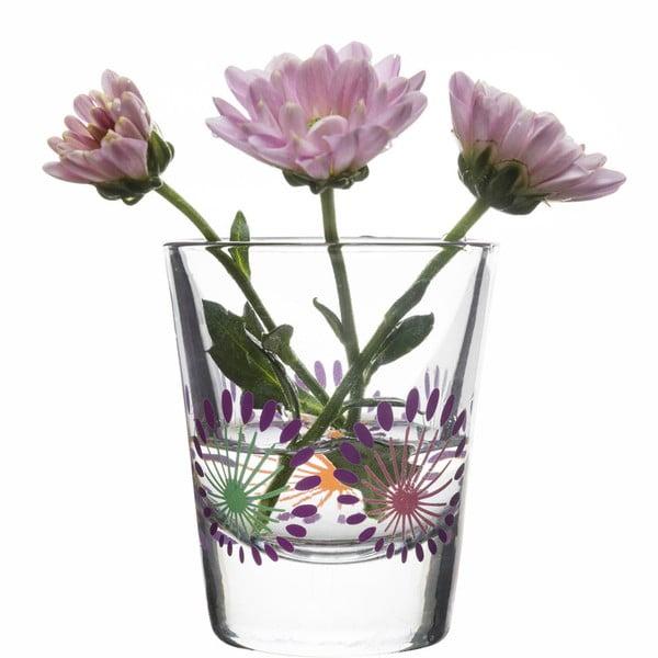 Sada 4 pohárov Sagaform Fantasy 45 ml, fialová