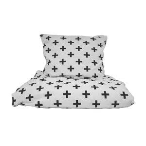 Bavlnené posteľné obliečky So Homel pluses, 140 x 200 cm