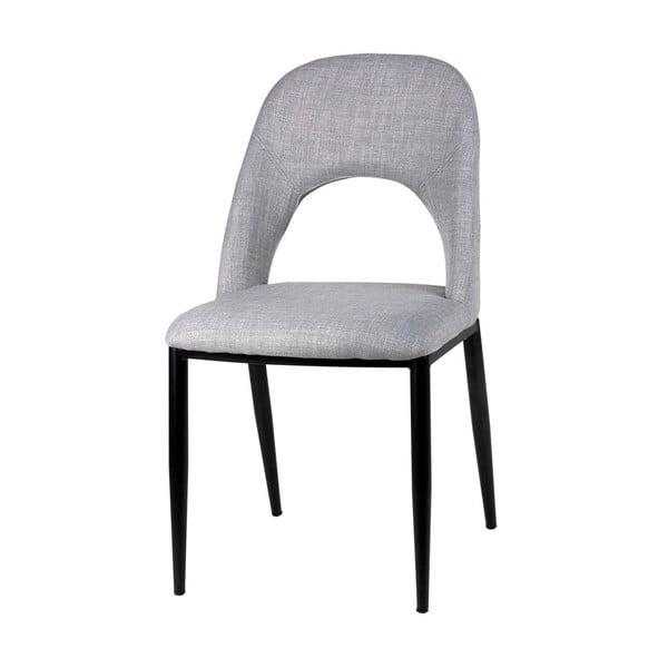 Sada 2 svetlosivých jedálenských stoličiek sømcasa Anika