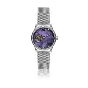 Dámske hodinky s antikoro remienkom v striebornej farbe Walter Bach Maglia