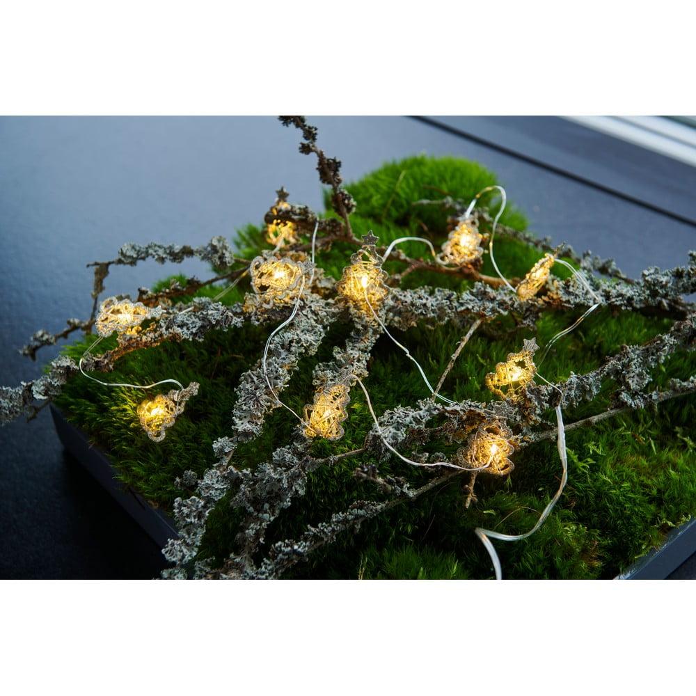 Svetelná LED reťaz Sirius Edith Tree, dĺžka 160 cm